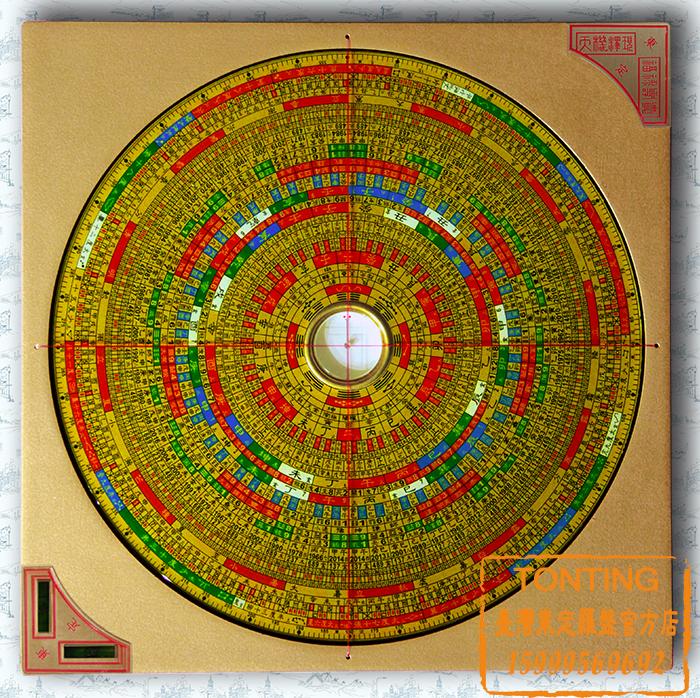 24天星 罗盘图解